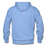 REDEEMED - Gildan Heavy Blend Adult Hoodie - carolina blue