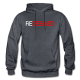 REDEEMED - Gildan Heavy Blend Adult Hoodie - charcoal gray