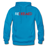 REDEEMED - Gildan Heavy Blend Adult Hoodie - turquoise