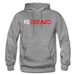 REDEEMED - Gildan Heavy Blend Adult Hoodie - graphite heather