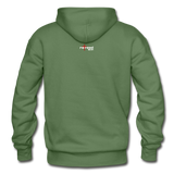 REDEEMED - Gildan Heavy Blend Adult Hoodie - military green
