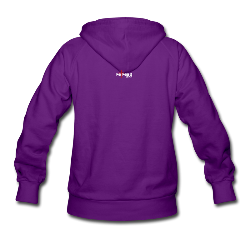 Grow In Grace Women's Hoodie - purple