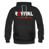 REVIVAL Men's Premium Hoodie - black