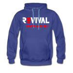 REVIVAL Men's Premium Hoodie - royalblue
