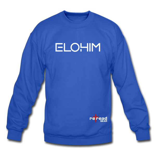 ELOHIM - Crewneck Sweatshirt - royal blue