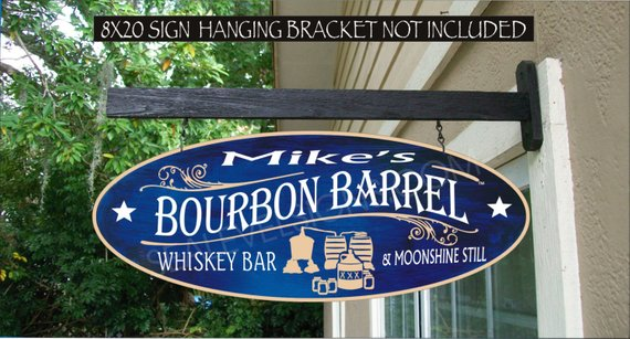 Personalized Moonshine Still Sign, Custom Moonshine Gifts, Family Name Waterproof Painted Sign