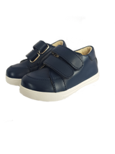 Load image into Gallery viewer, Navy Toddler Sneaker Size 22 - Size 27