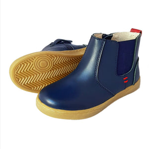 Navy Bobby Boots - Factory Second
