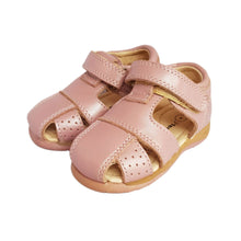Load image into Gallery viewer, 2FeetTall | Pink leather Toddler Sandal