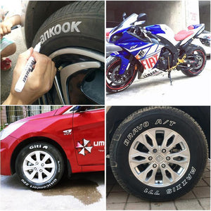 Non-Fading Tire Paint Pen,Wear New Clothes For the Car!