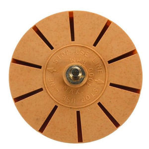 [Buy 2 Free Shipping] Rubber Decal Eraser Wheel