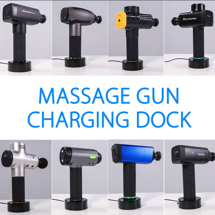 massage gun charging dock