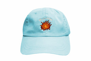 "Light Blue ""BM make it BANG"" Dad hat"