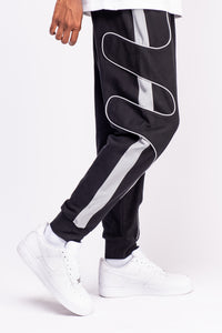 Black French Terry Joggers
