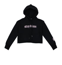 Load image into Gallery viewer, Long Sleeve Fleece Cropped Hoodie