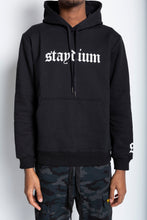 Load image into Gallery viewer, Long Sleeve Black Hoodie