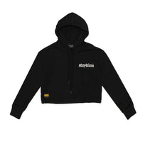 Load image into Gallery viewer, Cropped Hoodie w/ Cargo Pocket