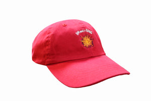 "Red ""BM make it BANG"" Dad hat"