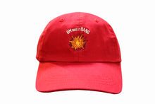 "Load image into Gallery viewer, Red ""BM make it BANG"" Dad hat"