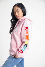 Load image into Gallery viewer, BTG x Staydium Terry Embroidered Hoodie in Pink