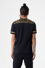 Load image into Gallery viewer, Healers X Staydium Staff Tee in Black with Gold Foil Print