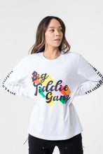 Load image into Gallery viewer, BTG x Staydium Long Sleeve T-shirt in White 2