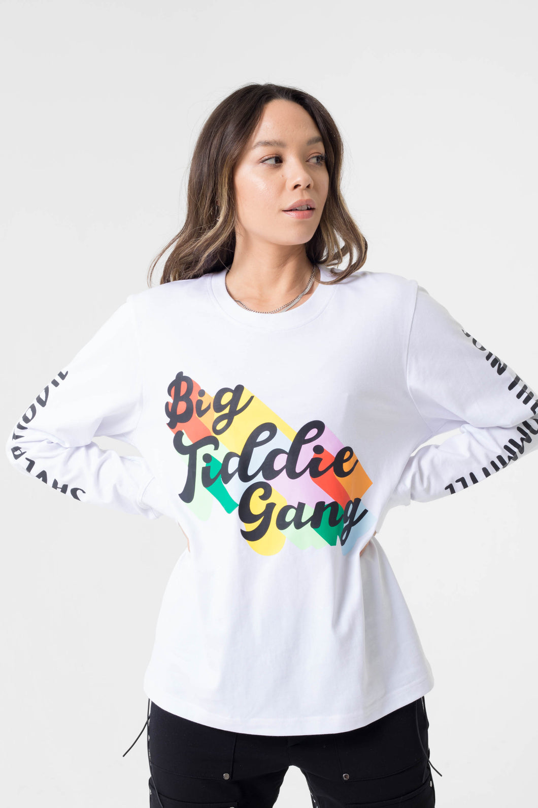 BTG x Staydium Long Sleeve T-shirt in White 2