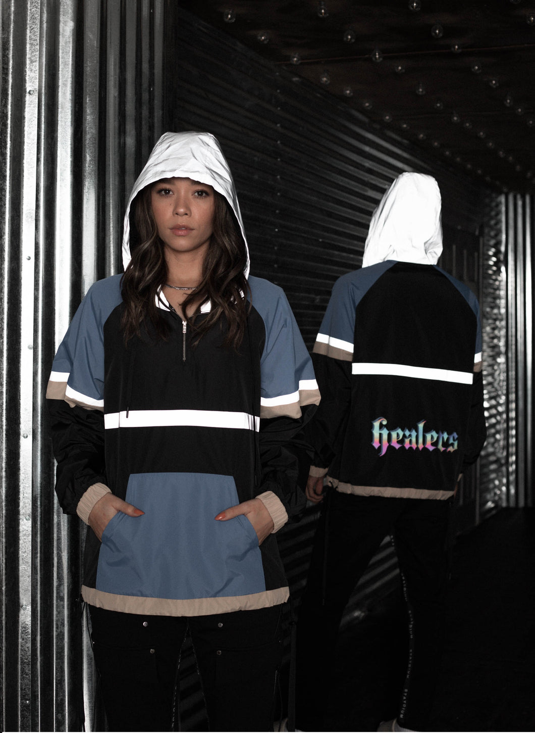 Healers x Staydium Color Block Windbreakers