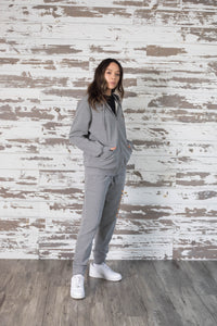 Healers X Staydium Sweatpants in Heather Grey