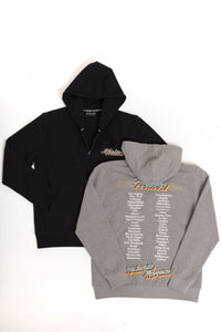 Healers x Staydium Zip Up Hoodie in Black