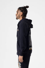 Load image into Gallery viewer, Healers x Staydium Zip Up Hoodie in Black