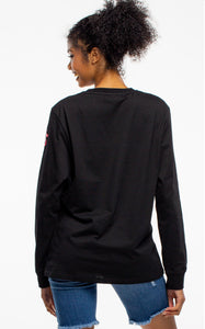 BTG x Staydium Long Sleeve T-shirt in Black