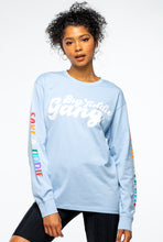 Load image into Gallery viewer, BTG x Staydium Long Sleeve T-shirt in Light Blue