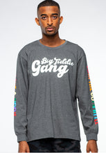 Load image into Gallery viewer, BTG x Staydium Long Sleeve T-shirt in Charcoal