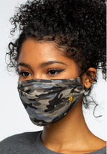 Load image into Gallery viewer, Grey Combo Camo Face Mask