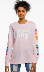BTG x Staydium Long Sleeve T-shirt in Pink