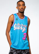 Load image into Gallery viewer, BTG x Staydium Basketball Jersey in Turquoise