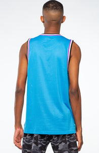 BTG x Staydium Basketball Jersey in Turquoise