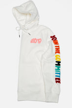 Load image into Gallery viewer, BTG x Staydium Terry Embroidered Hoodie in White