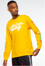 Load image into Gallery viewer, BTG x Staydium Long Sleeve T-shirt in Yellow