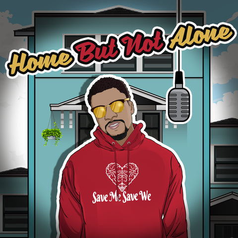 Junior Moaku Home But Not Alone Cover