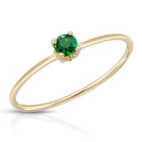 Vintage 1920'S Gem Ring - Green