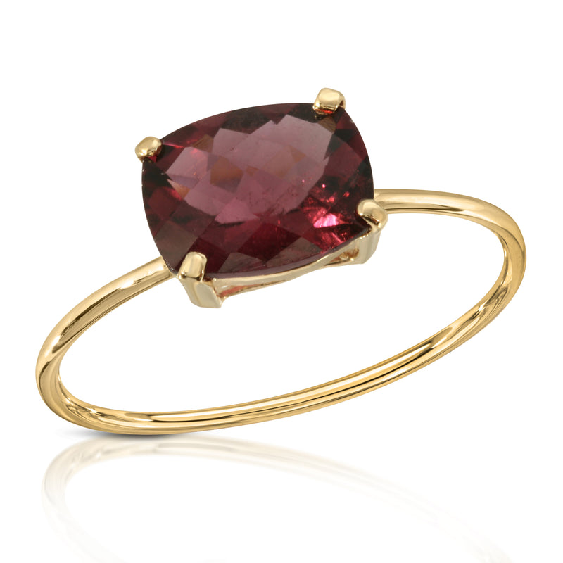 Raspberry Tourmaline Ring - BLVD