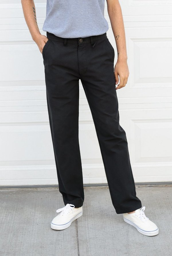 Classic Fatigue Pant - Black - BLVD
