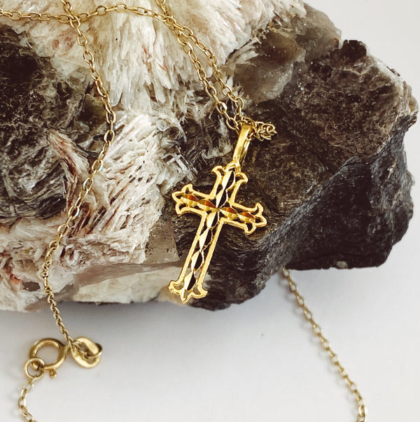 The Spanish Cross Necklace - BLVD