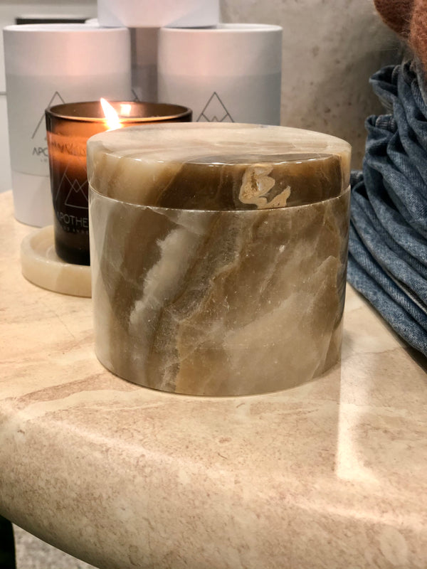 Solid Marble Vessel