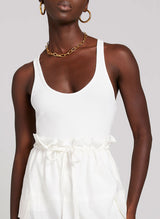 Savanna Tank - White