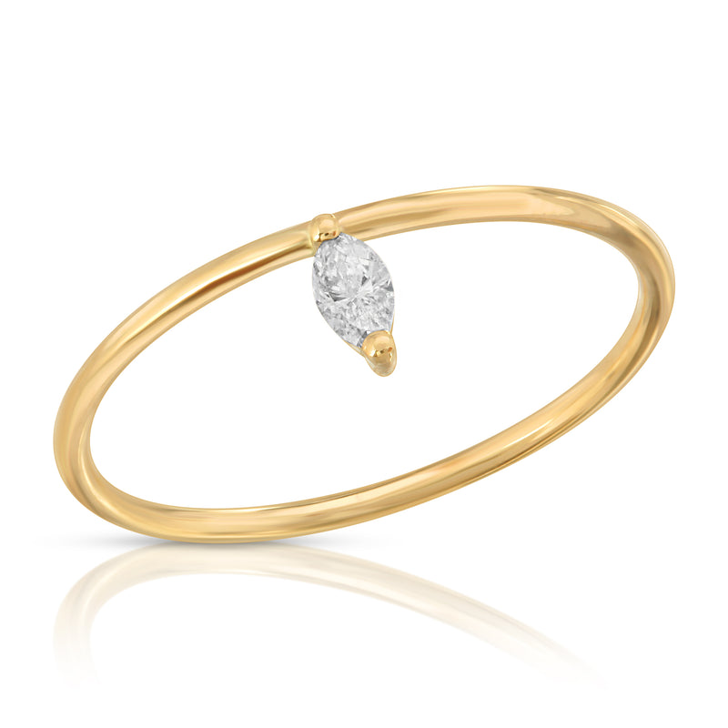 Diamond Marquise Ring - BLVD