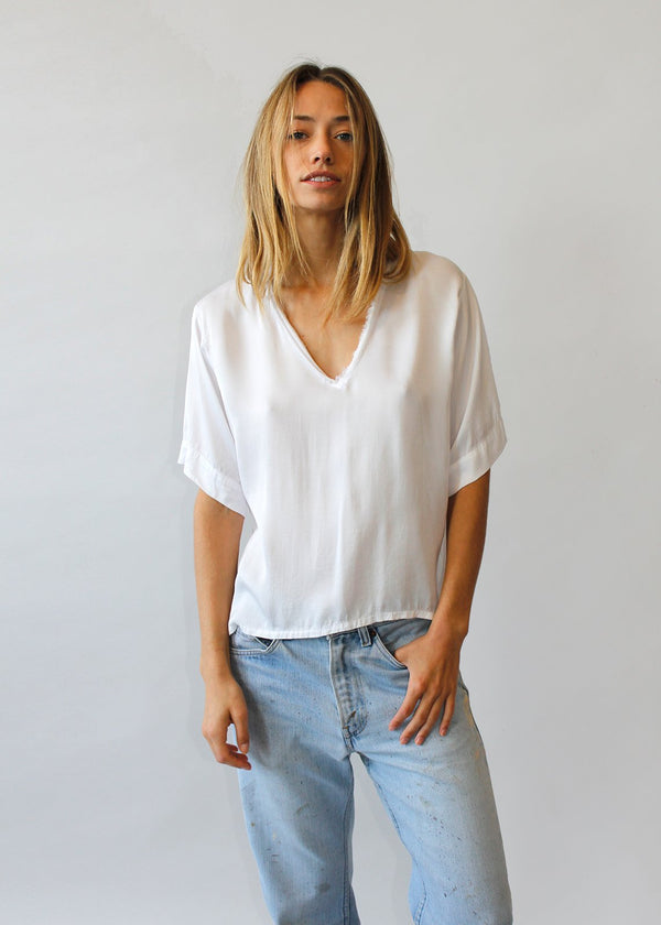 The Meier Tee - Bright White