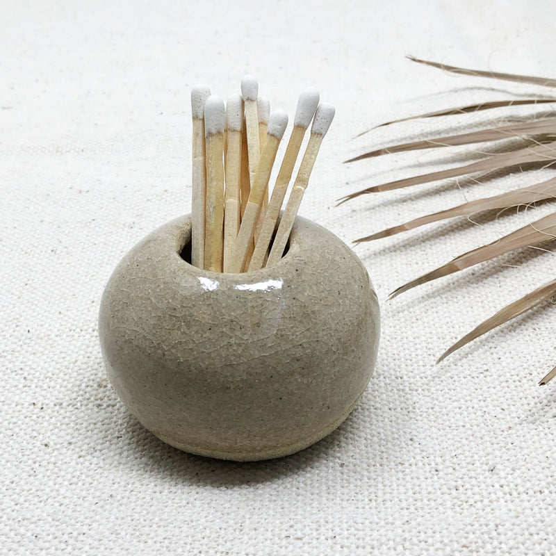 Playa Matchstick Holder + Matches
